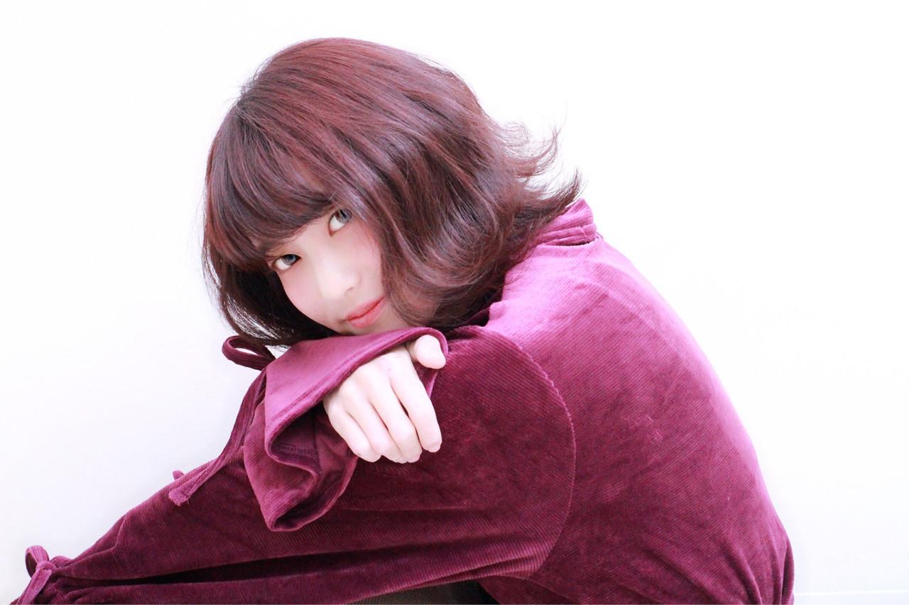 髪色から秋めいて。最新トレンドは「レッドブラウン」のヘアカラー♡の6枚目の画像