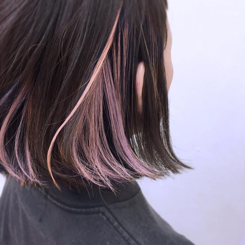 グレージュの髪色20連発 透け感カラーの王道 ブリーチなし 暗め