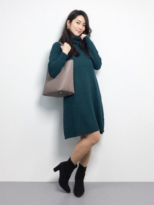 【秋冬】男性が選ぶ!女性に着てほしい秋冬のニットワンピースとは?の5枚目の画像