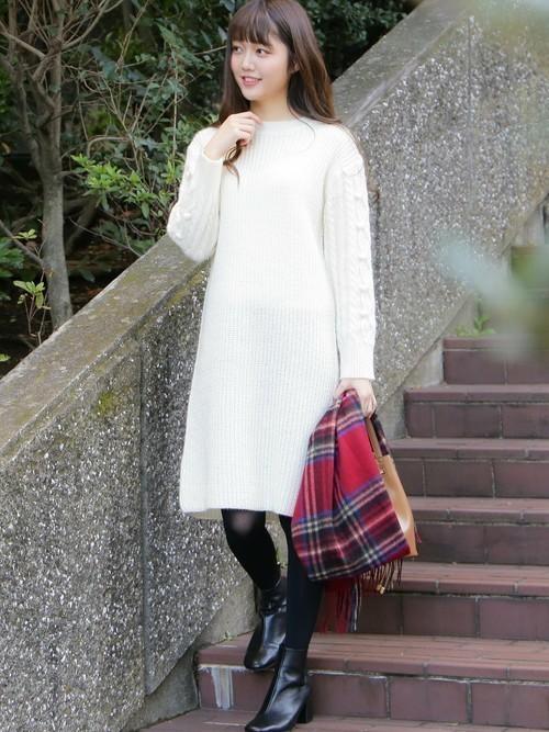 【秋冬】男性が選ぶ!女性に着てほしい秋冬のニットワンピースとは?の2枚目の画像