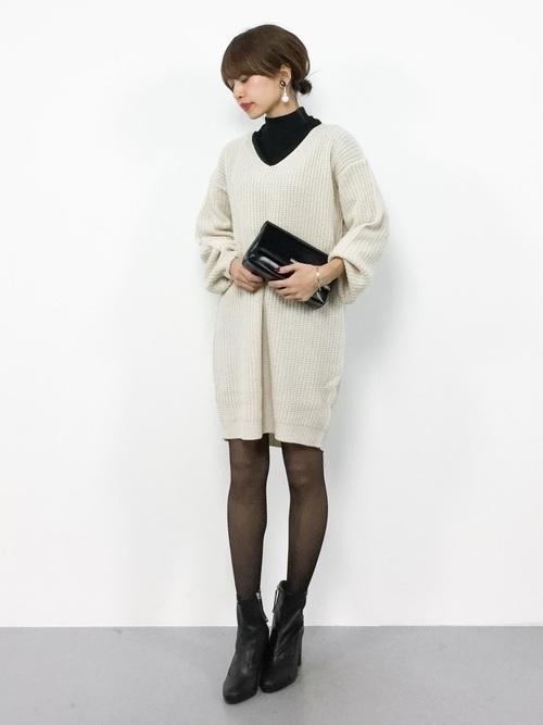 【秋冬】男性が選ぶ!女性に着てほしい秋冬のニットワンピースとは?の6枚目の画像