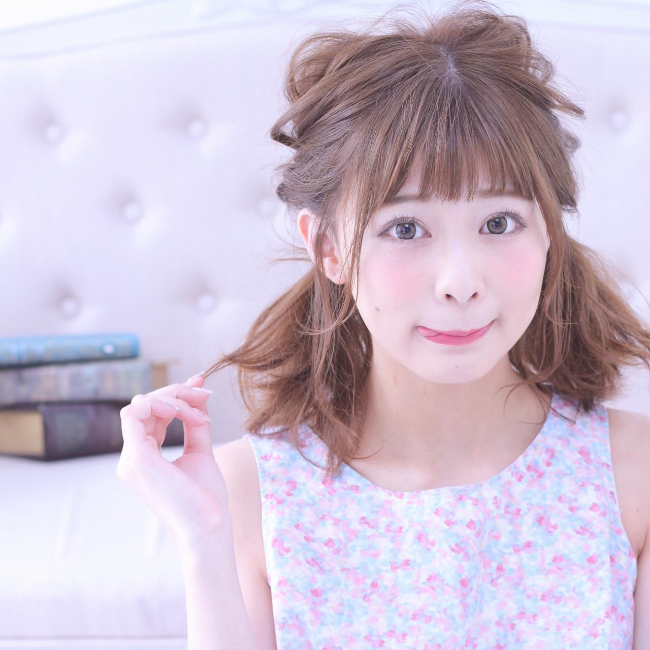 夏が来た!!夏フェス参加者必見♡おすすめ髪型8選の10枚目の画像