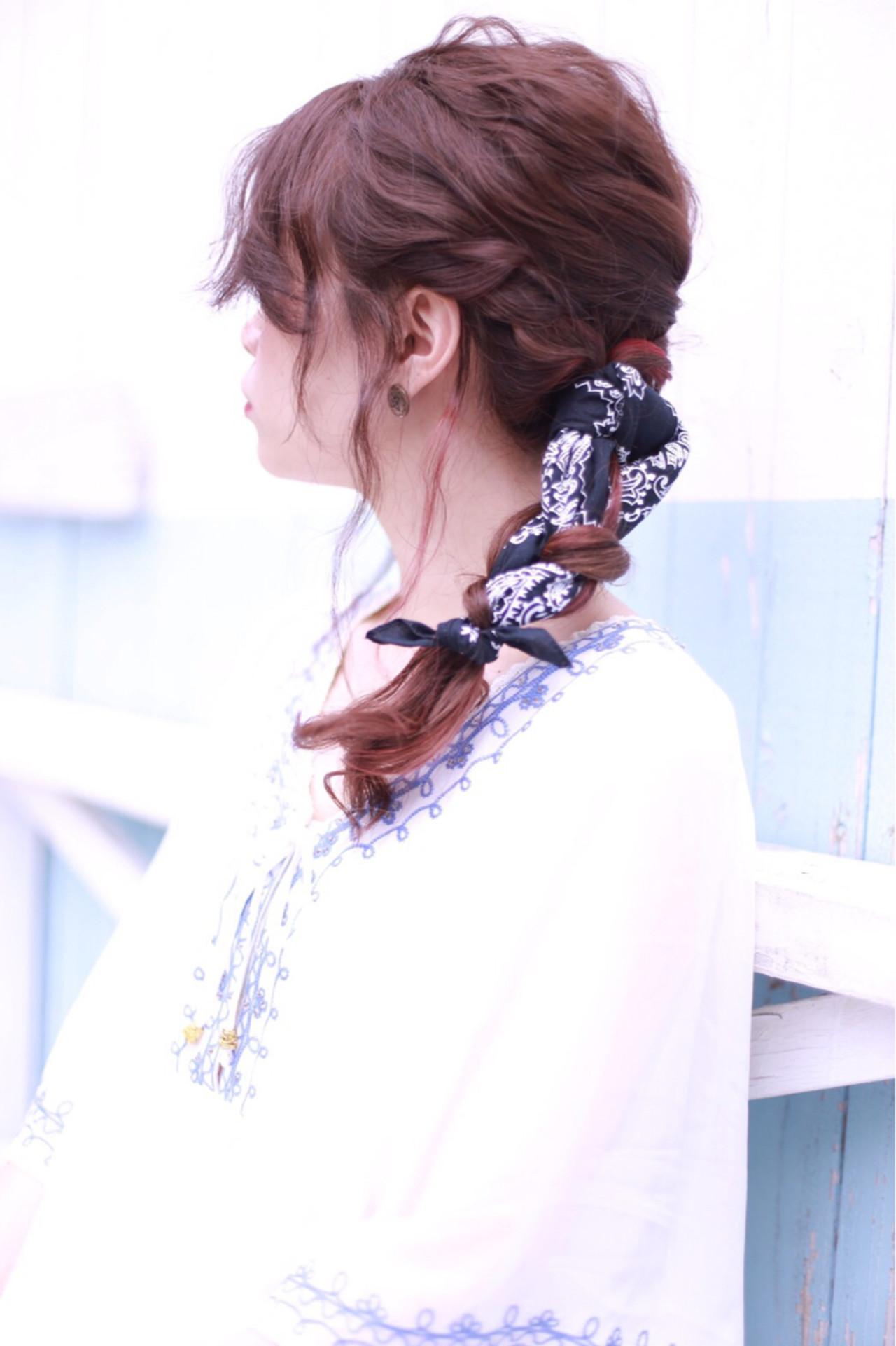 夏が来た!!夏フェス参加者必見♡おすすめ髪型8選の18枚目の画像