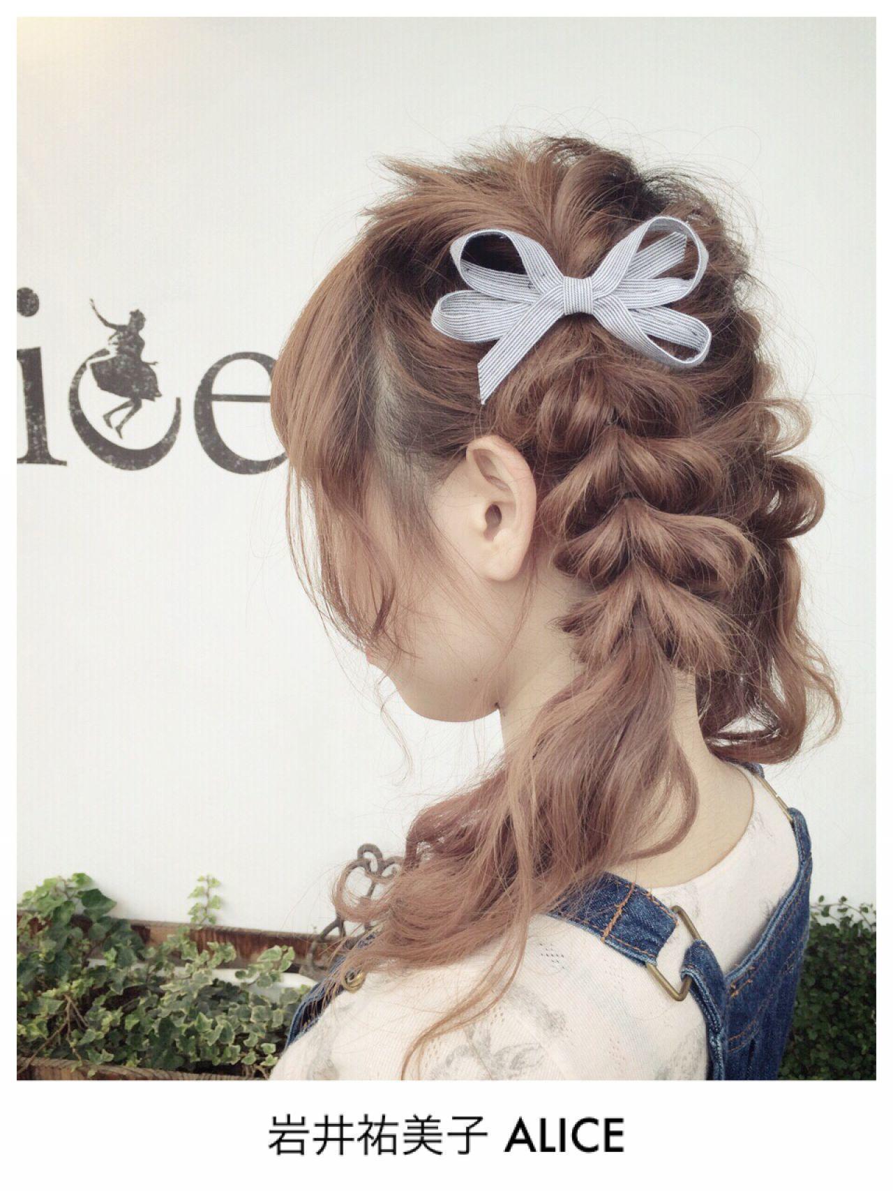 夏が来た!!夏フェス参加者必見♡おすすめ髪型8選の19枚目の画像