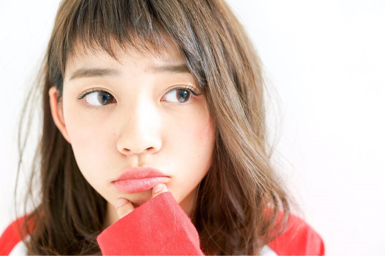 オン眉で印象チェンジ♡丸顔さんも似合うおすすめヘアスタイル紹介の3枚目の画像