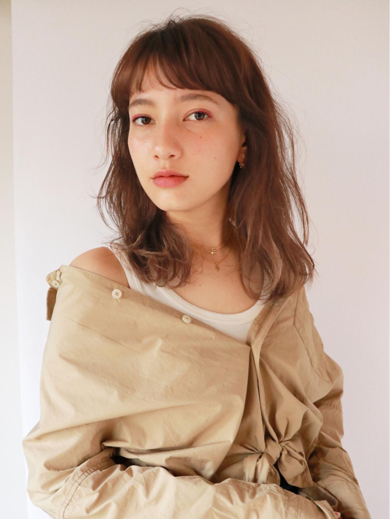 オン眉で印象チェンジ♡丸顔さんも似合うおすすめヘアスタイル紹介の4枚目の画像