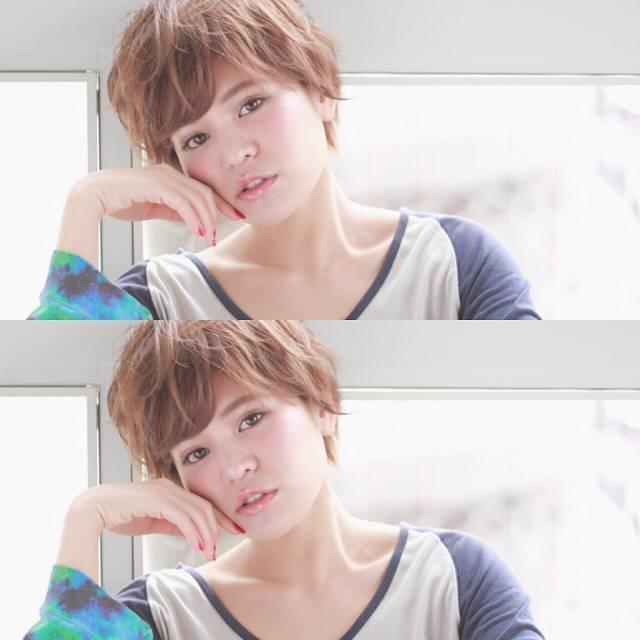 オン眉で印象チェンジ♡丸顔さんも似合うおすすめヘアスタイル紹介の17枚目の画像