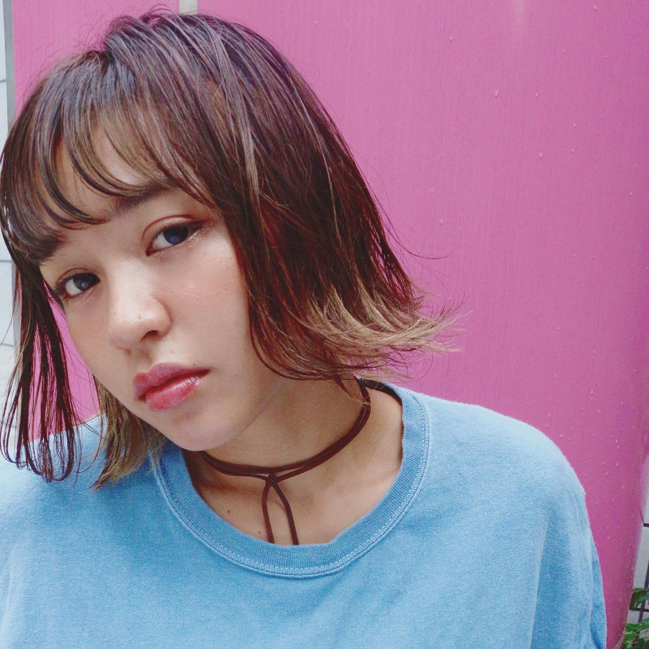 オン眉で印象チェンジ♡丸顔さんも似合うおすすめヘアスタイル紹介の20枚目の画像