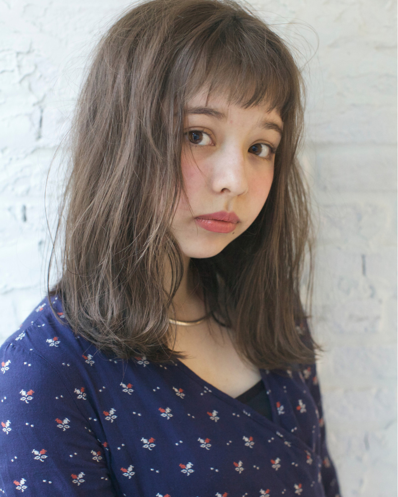 オン眉で印象チェンジ♡丸顔さんも似合うおすすめヘアスタイル紹介の25枚目の画像