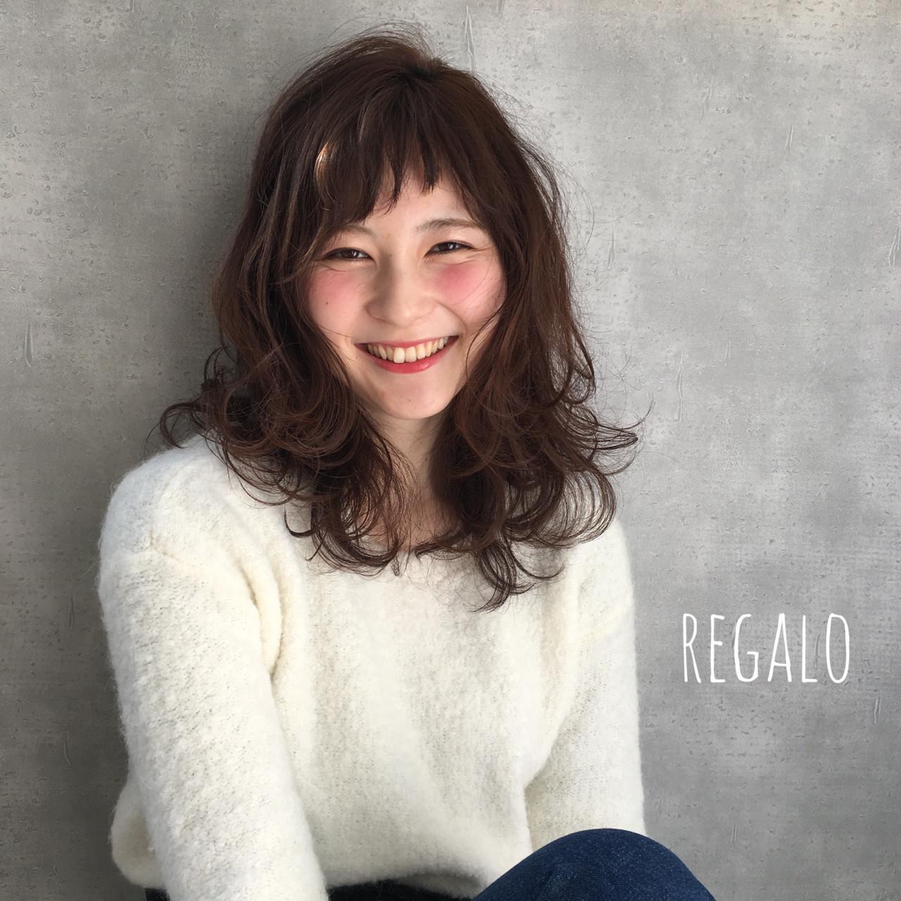 オン眉で印象チェンジ♡丸顔さんも似合うおすすめヘアスタイル紹介の26枚目の画像