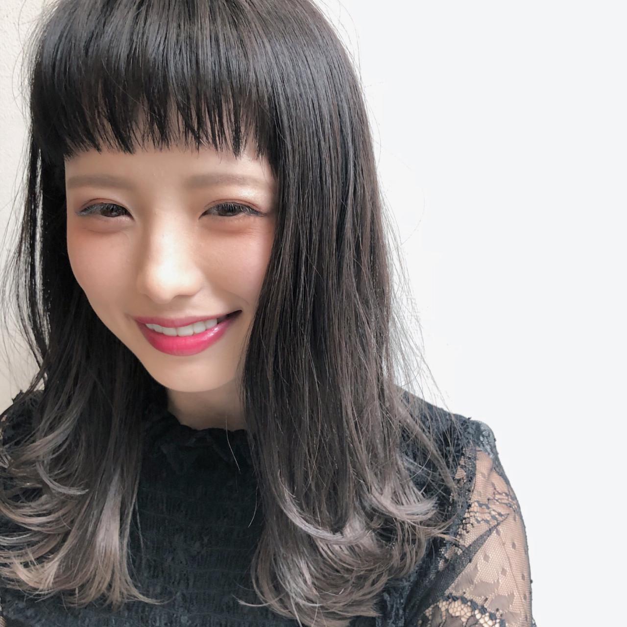 オン眉で印象チェンジ♡丸顔さんも似合うおすすめヘアスタイル紹介の28枚目の画像