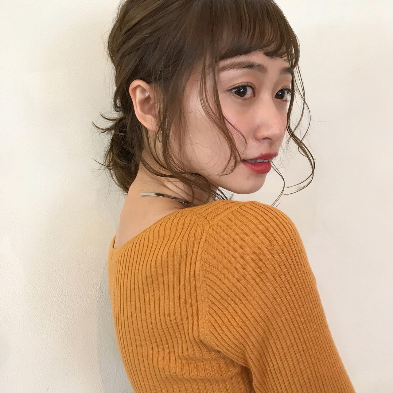 オン眉で印象チェンジ♡丸顔さんも似合うおすすめヘアスタイル紹介の32枚目の画像