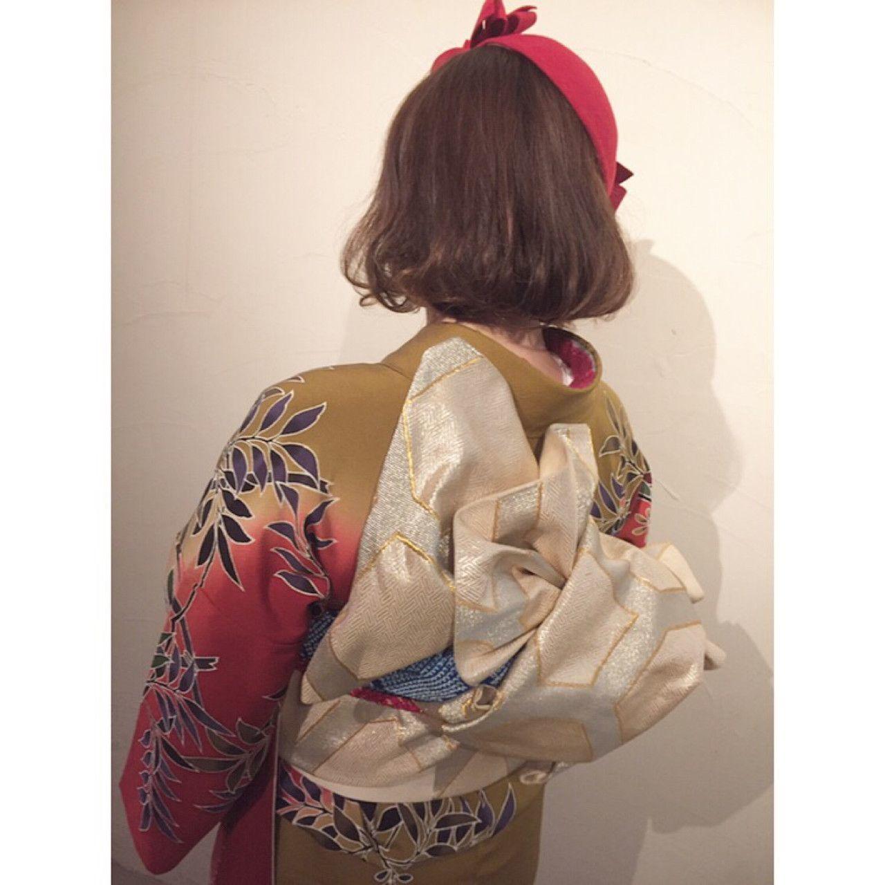 【着物ヘアアレンジ】後ろ姿にドキ♡思わず振り返る美人アレンジ紹介の9枚目の画像