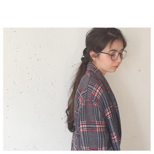 ポニーテールは女子の味方♡前髪にこだわって裏切らないヘアにの17枚目の画像