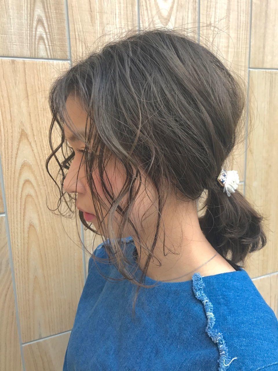 ポニーテールは女子の味方♡前髪にこだわって裏切らないヘアにの25枚目の画像