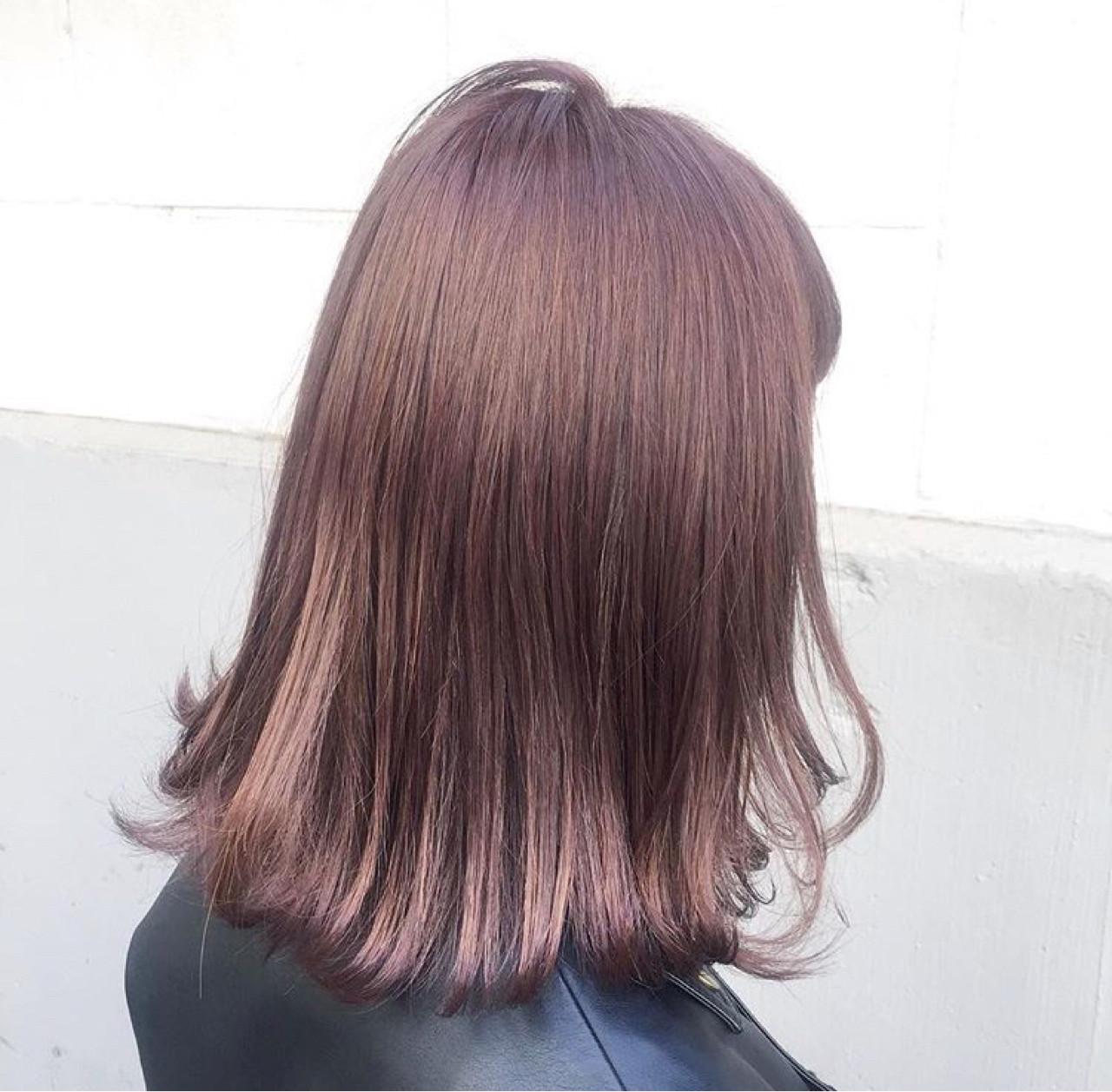 紫のヘアカラー特集♡甘ずっぱいベリーのような愛されヘアにの2枚目の画像