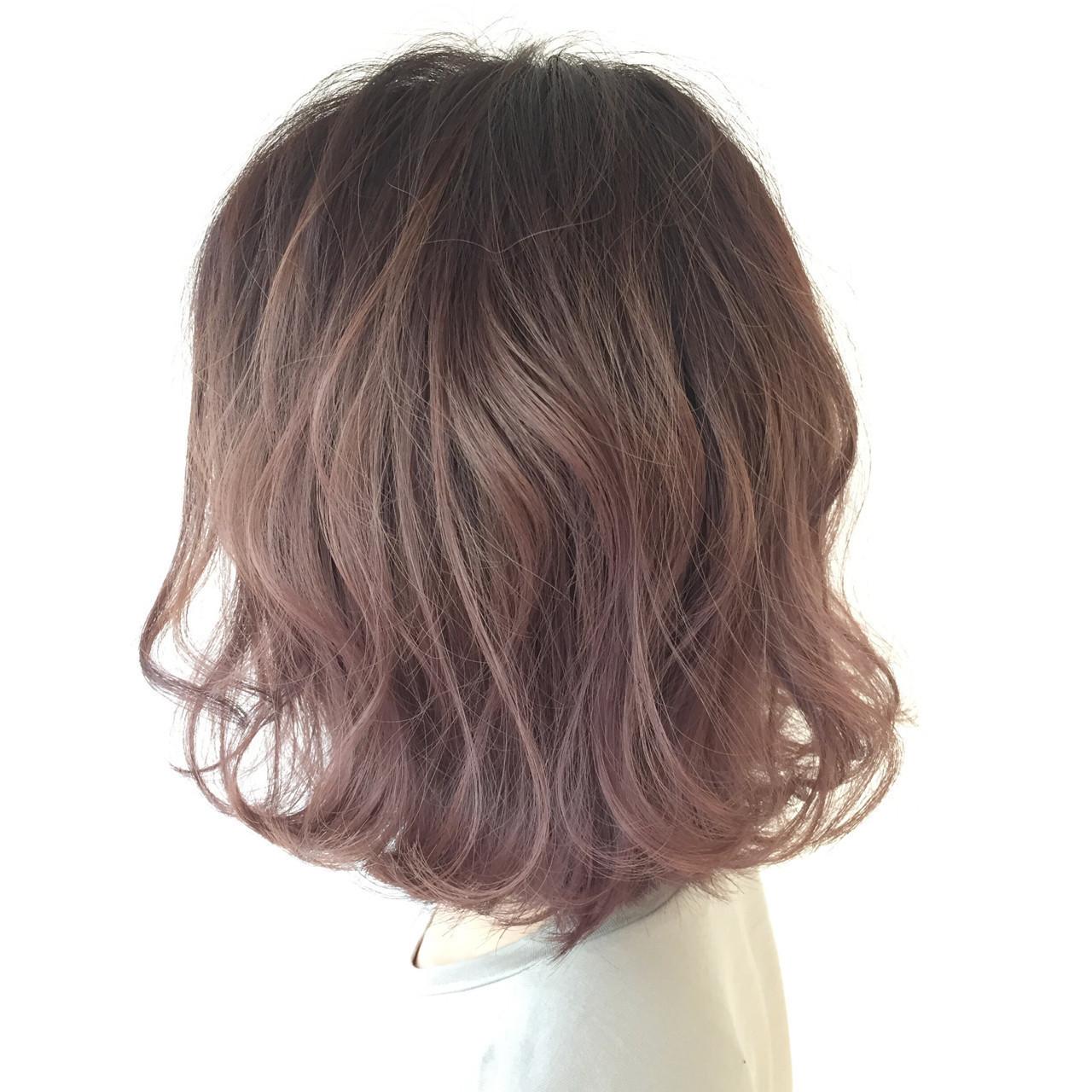 紫のヘアカラー特集♡甘ずっぱいベリーのような愛されヘアにの3枚目の画像