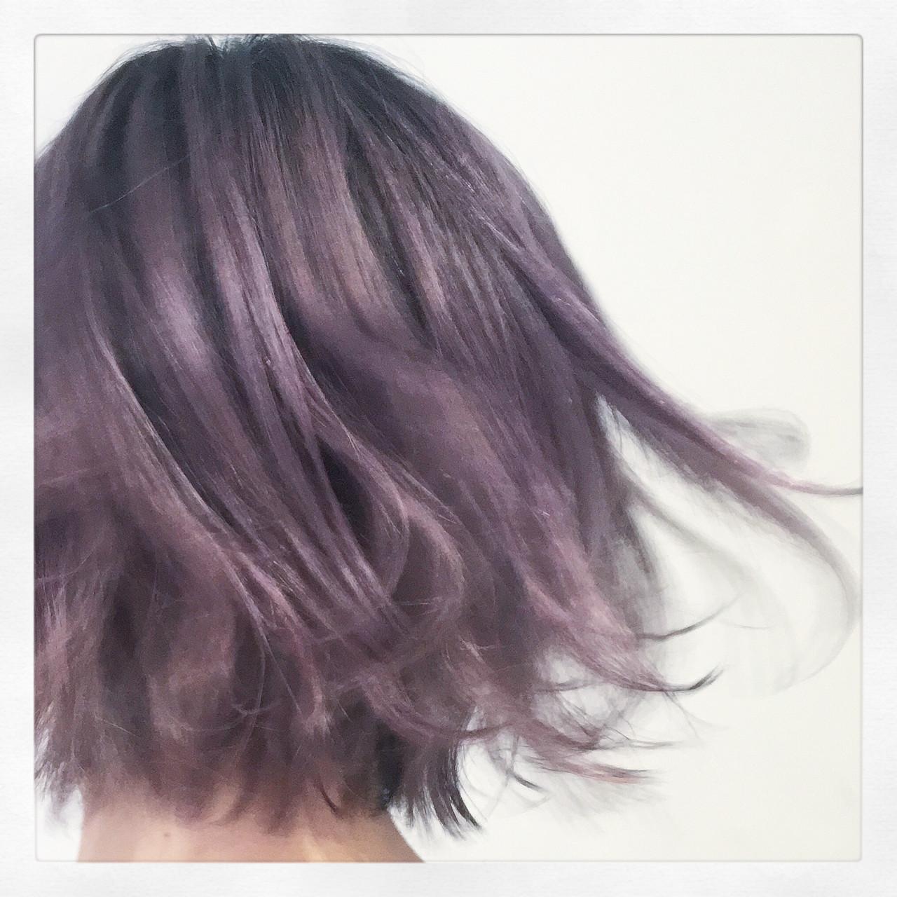 紫のヘアカラー特集♡甘ずっぱいベリーのような愛されヘアにの10枚目の画像