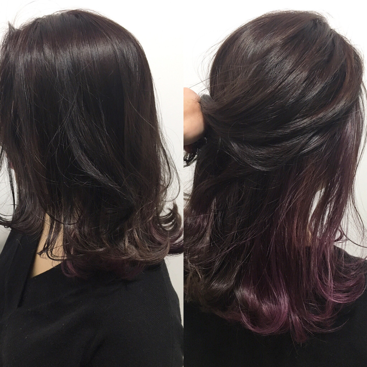 紫のヘアカラー特集♡甘ずっぱいベリーのような愛されヘアにの15枚目の画像