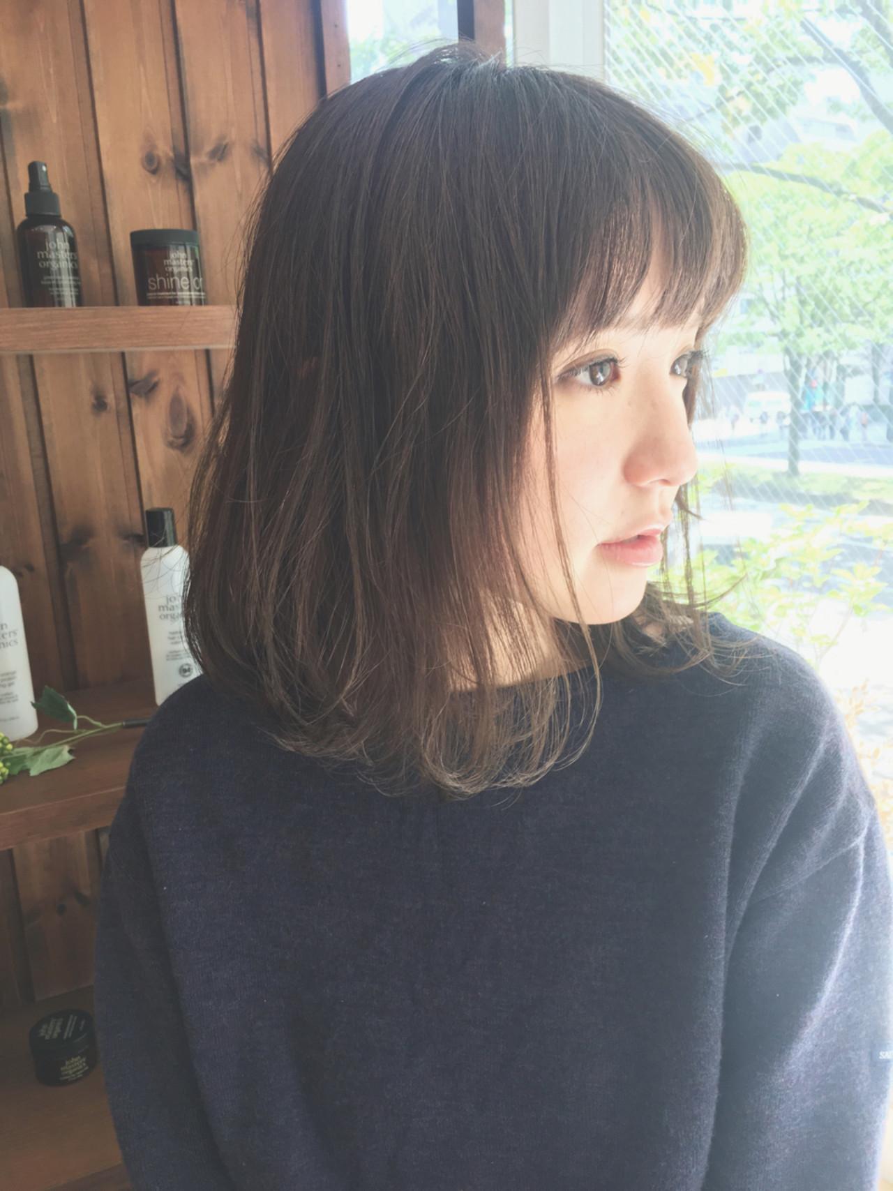 《毛先パーマ》だけで叶う♡朝のヘアセットはワンカールで ...