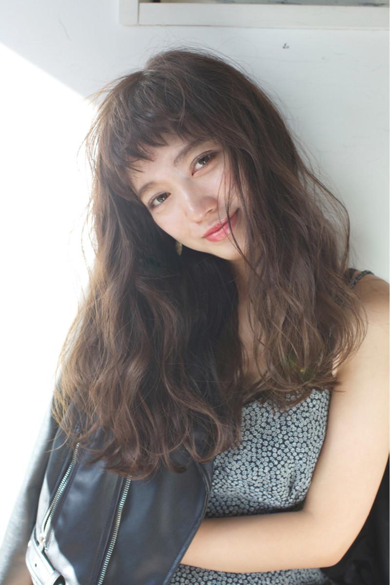 波ウェーブヘア Hy 42 ヘアカタログ 髪型 ヘアスタイル Afloat
