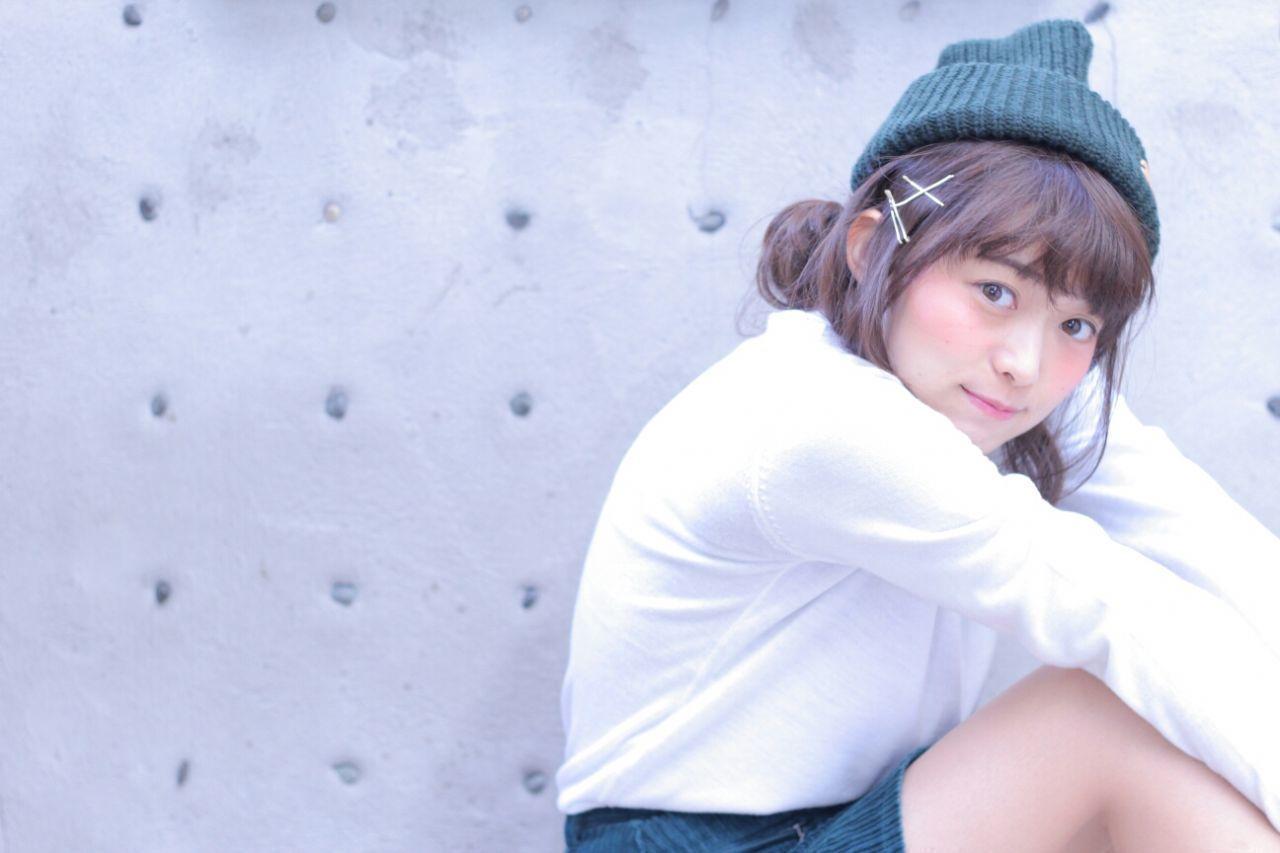 【ニット帽の髪型特集】おしゃれでかわいいヘアアレンジをマスター♡の1枚目の画像