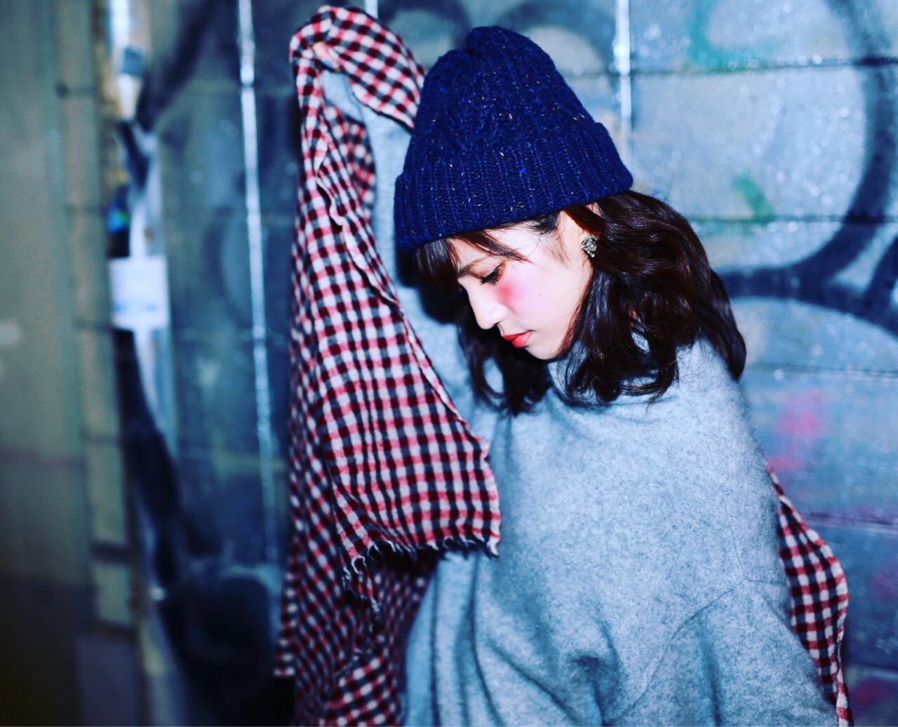 【ニット帽の髪型特集】おしゃれでかわいいヘアアレンジをマスター♡の5枚目の画像