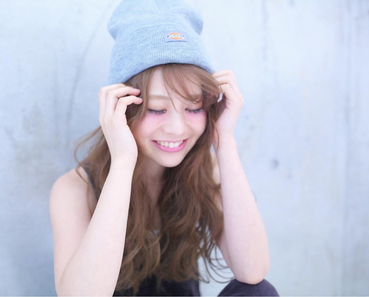 【ニット帽の髪型特集】おしゃれでかわいいヘアアレンジをマスター♡の6枚目の画像