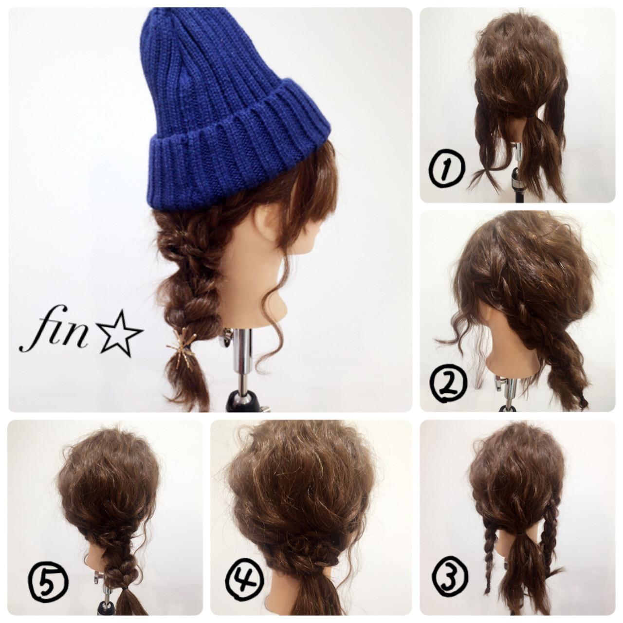 【ニット帽の髪型特集】おしゃれでかわいいヘアアレンジをマスター♡の10枚目の画像