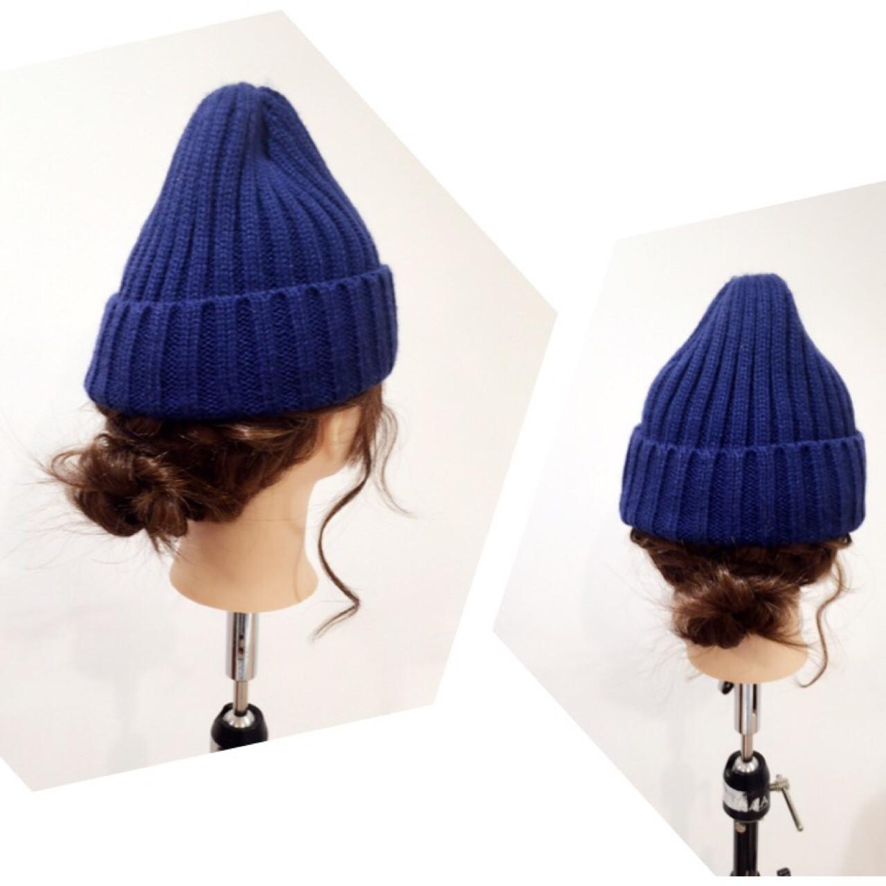 【ニット帽の髪型特集】おしゃれでかわいいヘアアレンジをマスター♡の11枚目の画像
