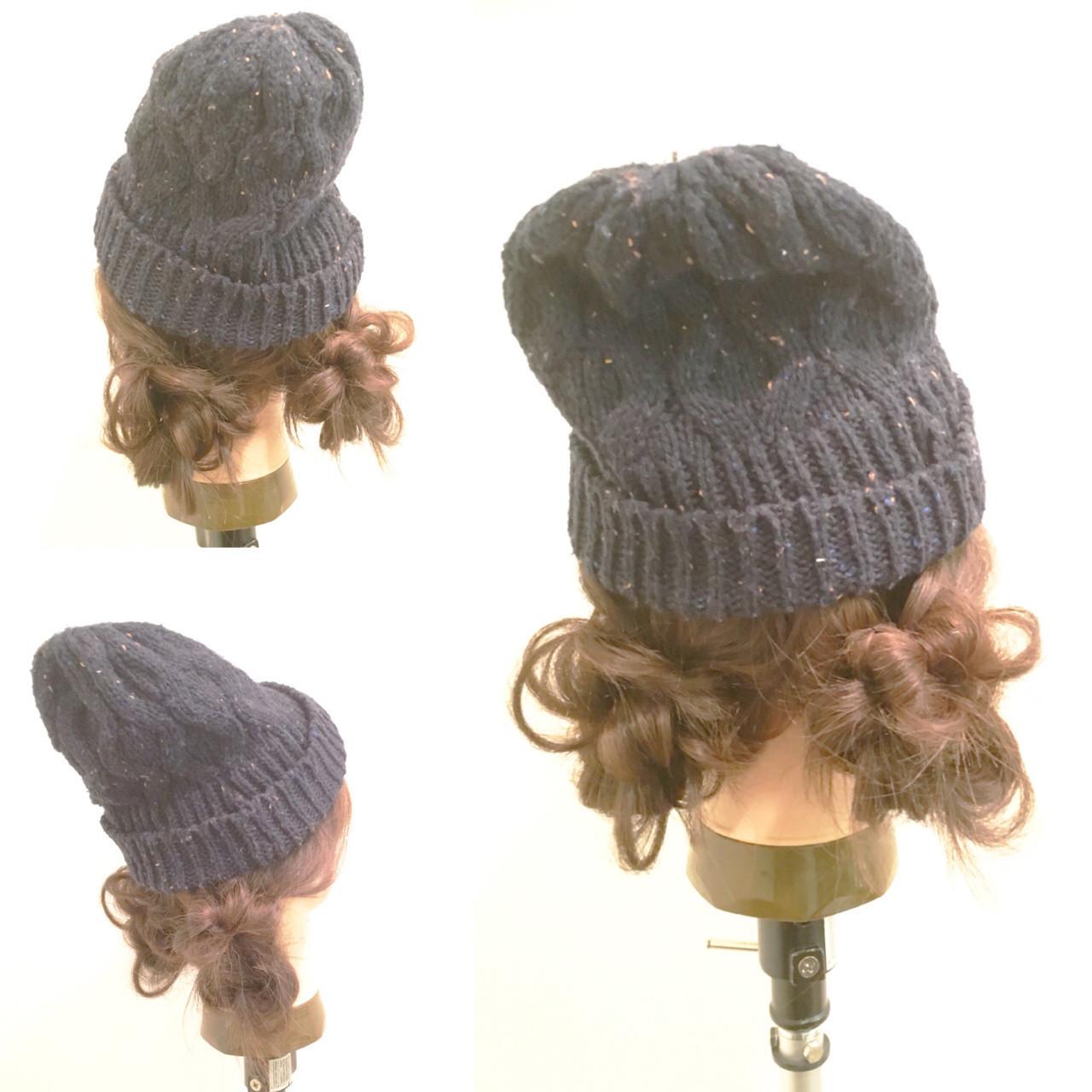 【ニット帽の髪型特集】おしゃれでかわいいヘアアレンジをマスター♡の12枚目の画像