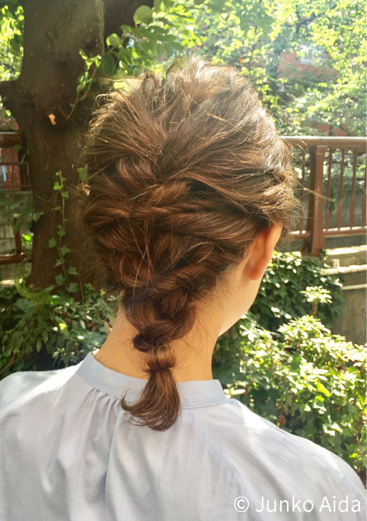 アップのヘアアレンジでかわいくなる♡レングス別にご紹介します!の12枚目の画像