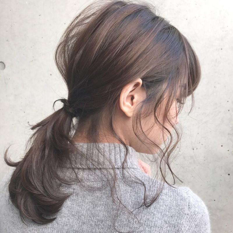 今年の夏はモテヘア【前髪なし×ポニーテール】に決まり!♡