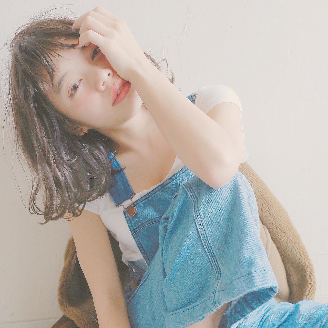 話題のモテヘア。薄め前髪【シースルーバング】に恋する予感…♡の26枚目の画像