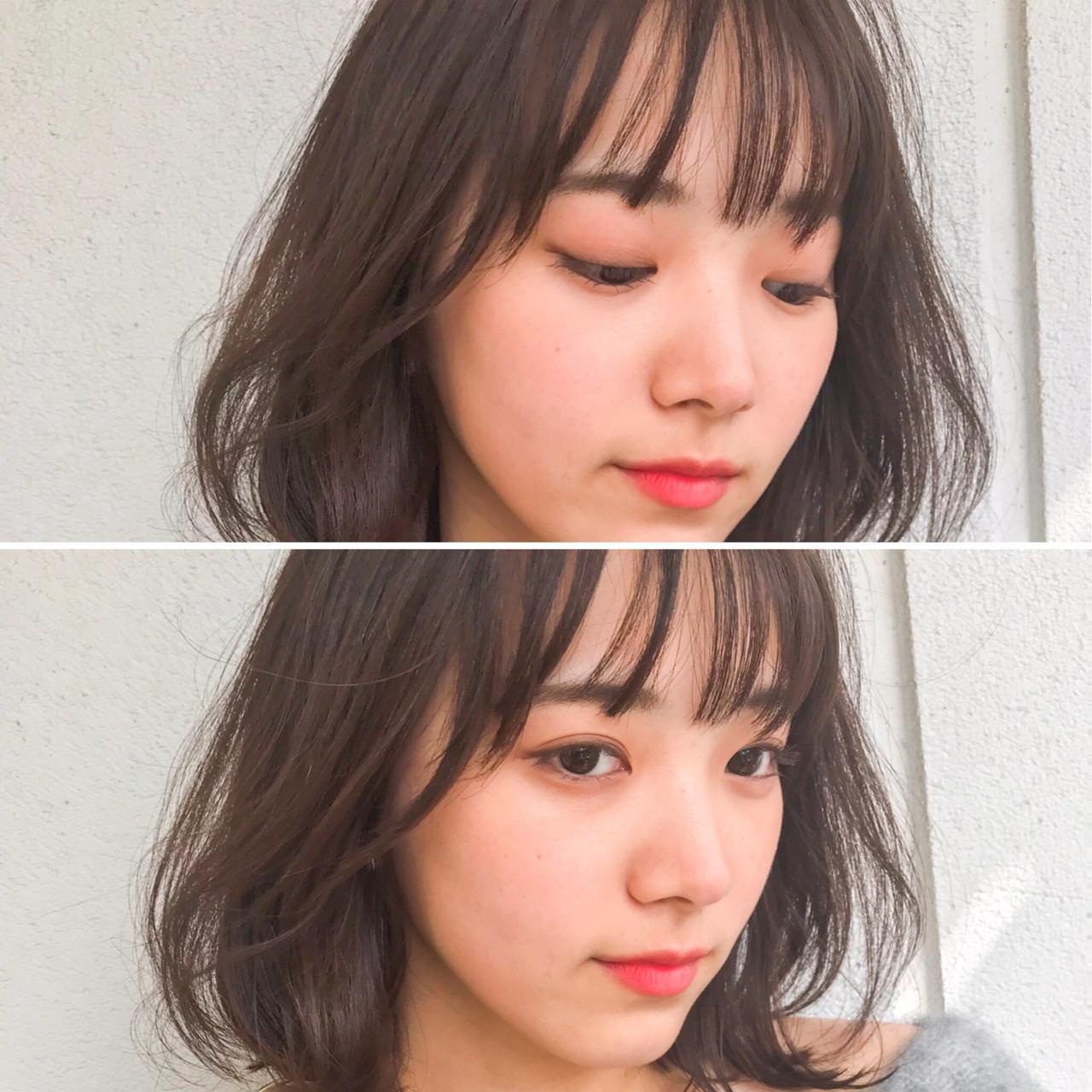 話題のモテヘア。薄め前髪【シースルーバング】に恋する予感…♡の5枚目の画像