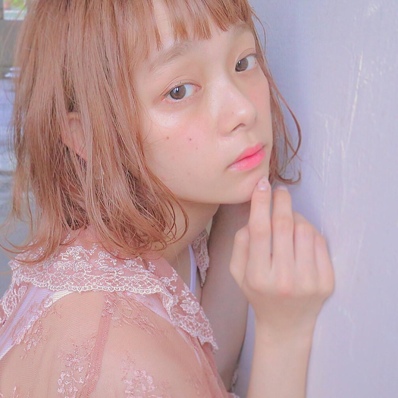 話題のモテヘア。薄め前髪【シースルーバング】に恋する予感…♡の12枚目の画像