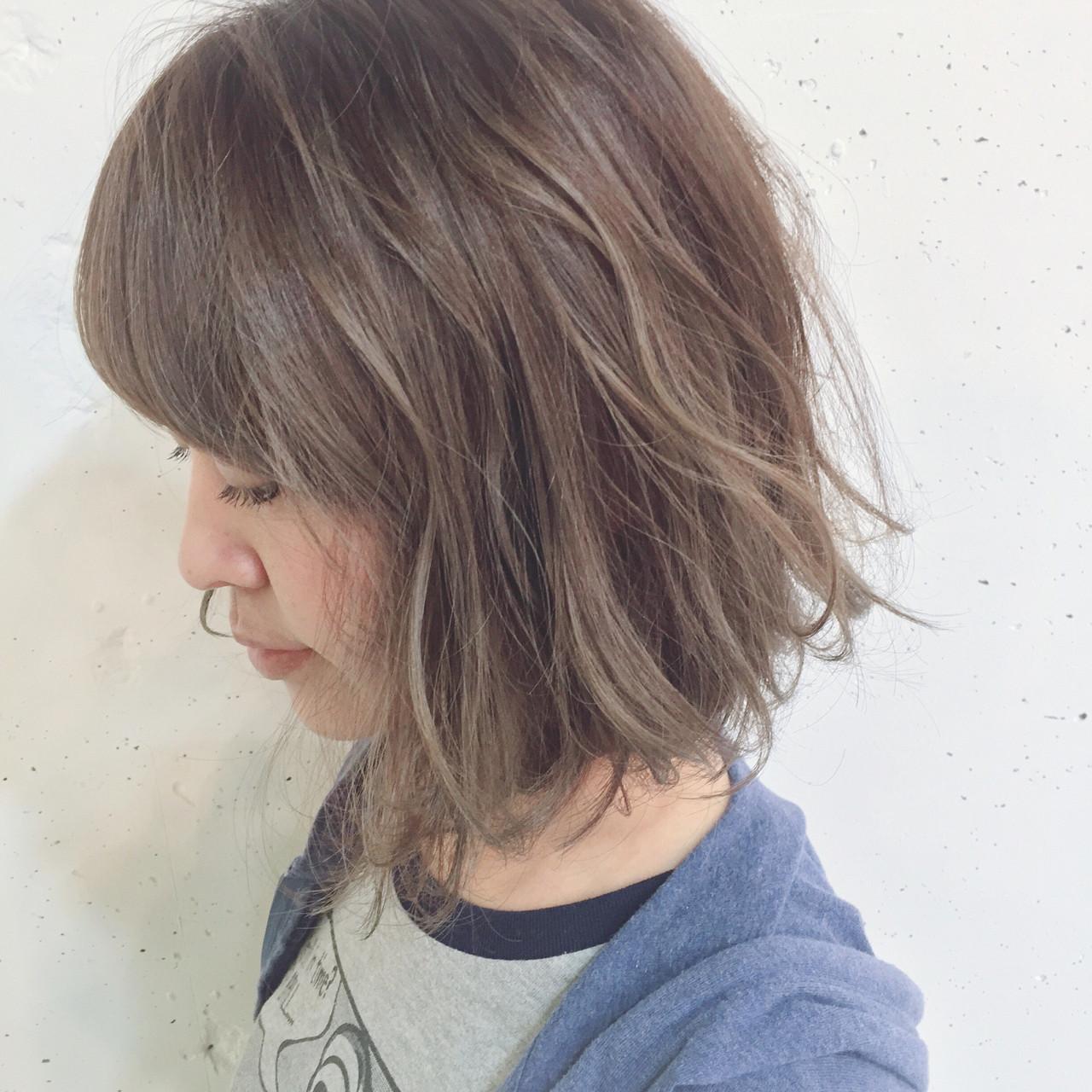 2018年秋冬【グレージュグラデーション】でトレンドヘア♡の7枚目の画像