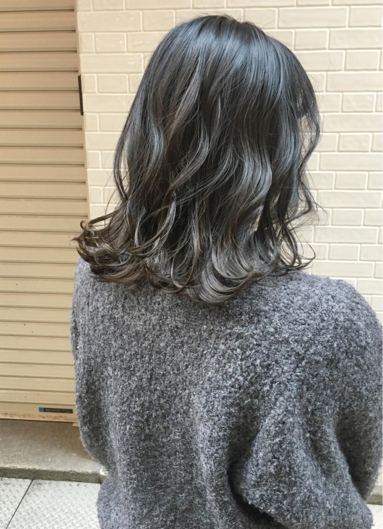2018年秋冬【グレージュグラデーション】でトレンドヘア♡の11枚目の画像