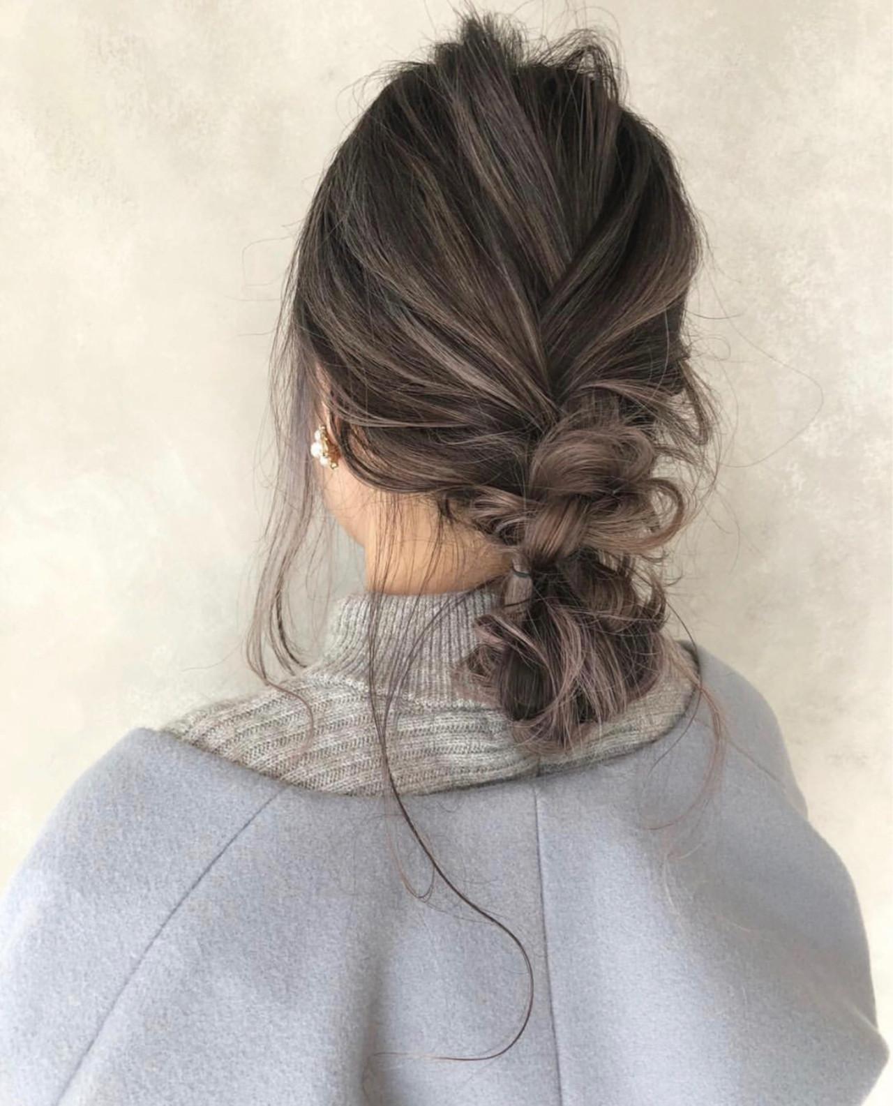 2019年秋冬【グレージュグラデーション】でトレンドヘア♡の16枚目の画像