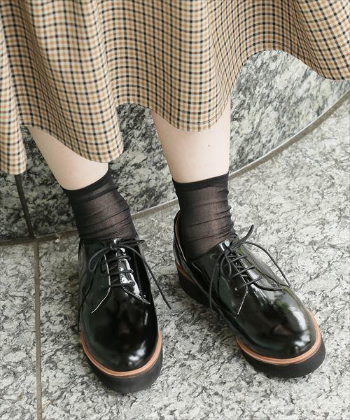 1bc257a8e08 おじ靴で作るマニッシュコーデ♡ ポイントは靴下だった! | ARINE [アリネ]