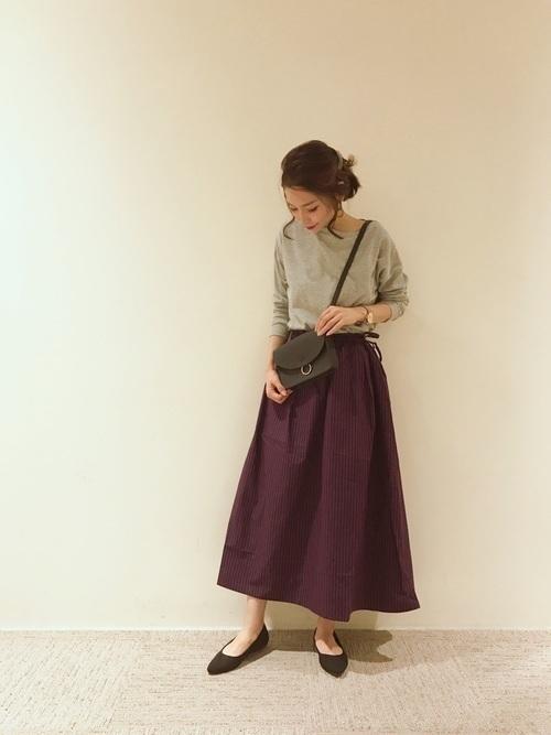 1着はもっていたい!ストライプスカートで作る旬顔コーデ25選♡の12枚目の画像
