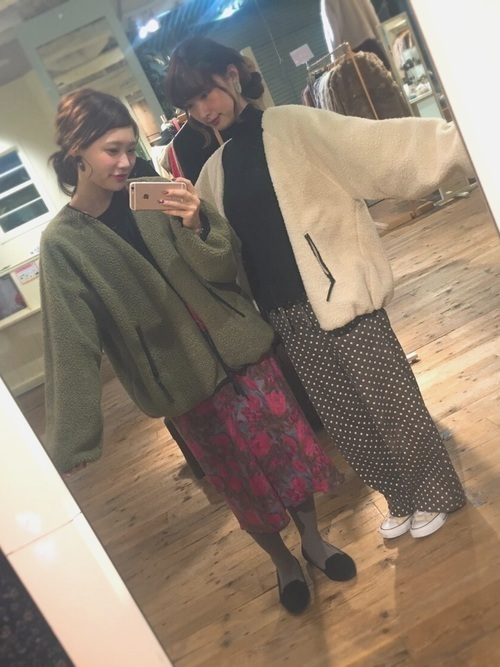 イマドキ女子からラブコール♡カスタネの【ボアブルゾン】特集♡の12枚目の画像