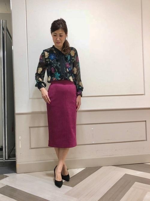 秋冬のスエードスカートコーデ22選&人気スエードスカートご紹介♡の20枚目の画像