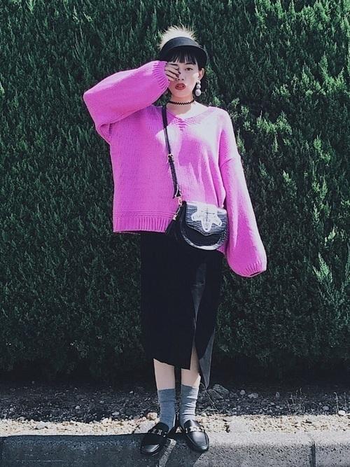 秋冬のスエードスカートコーデ22選&人気スエードスカートご紹介♡の21枚目の画像