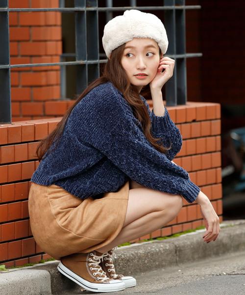 秋冬のスエードスカートコーデ22選&人気スエードスカートご紹介♡の24枚目の画像
