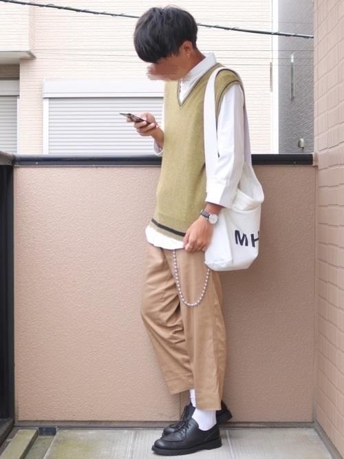 ワントーンコーデでオシャレに☆【メンズ・レディース】厳選コーデ集の12枚目の画像