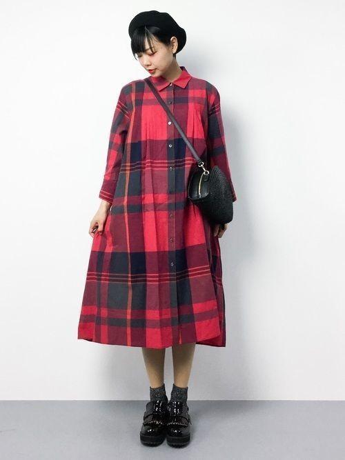 cb3e1325f0e31 秋服買うならまずはワンピースから♡2018年の旬コーデを大公開