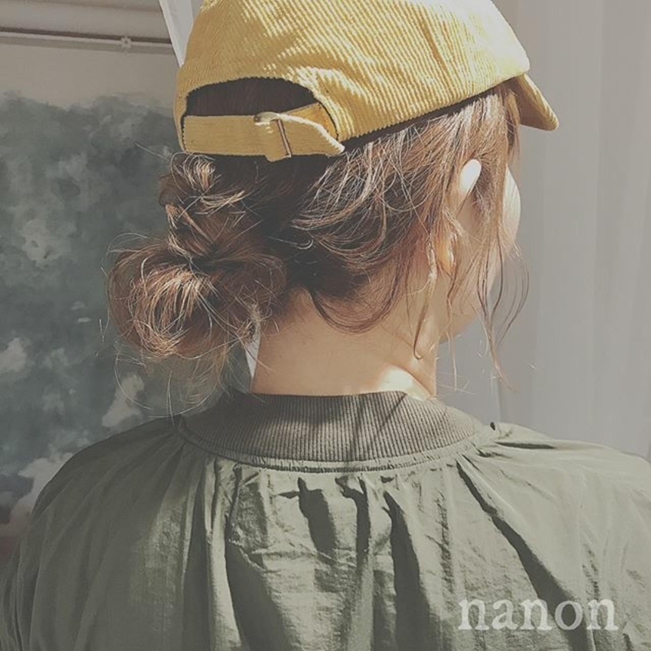 ショートボブ×帽子と合わせて4シーズン楽しむ♡アレンジも紹介!の17枚目の画像