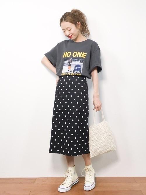 Tシャツでかわいいをget♡レディースブランドの種類別おすすめの13枚目の画像