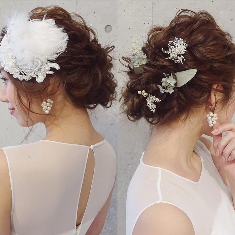"""結婚式の""""髪飾り""""のマナーと選び方!お呼ばれは、相応しい髪型で♡"""